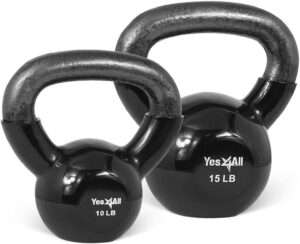 Yes4All Combo Coated Kettlebell