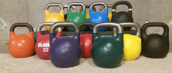 Competition Kettlebells VS Regular