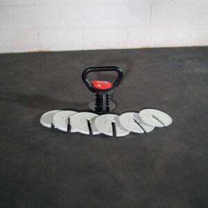 interchangeable kettlebell weights